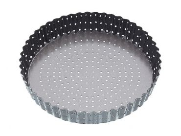 Crusty Bake Loose Base Round Flan/Quiche Pan 23cm