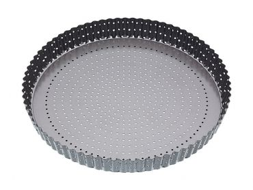 Crusty Bake Loose Base Round Flan/Quiche Pan 30cm