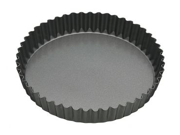 Heavy Base Loose Base Round Quiche Pan 25cm