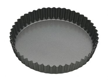Heavy Base Loose Base Round Flan/Quiche Pan 23cm
