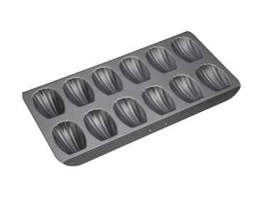 Heavy Base 12 Cup Madeleine Pan