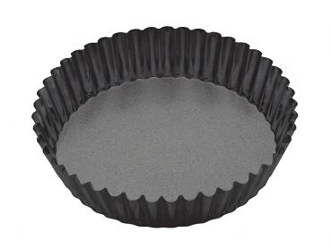 Heavy Base Round Loose Base Dp Flan/Quiche Pan 25cm